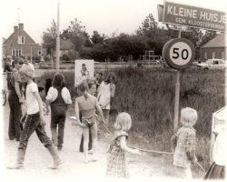 Ingang dorp Kleine Huisjes