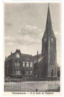 Kerk met pastorie