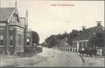 Zicht op oostkant Hoofdstraat, Kloosterburen