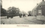 Kloosterburen, zicht op westkant Hoofdstraat